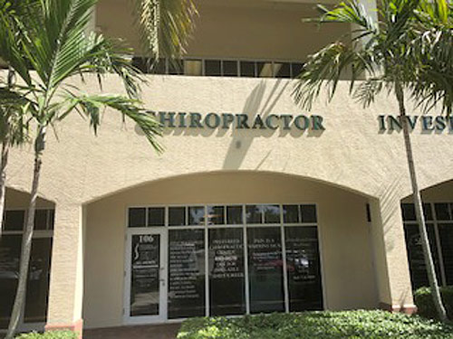 Chiropractic Palm Beach Gardens FL Office Building